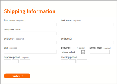 Address Validation On A Website Form